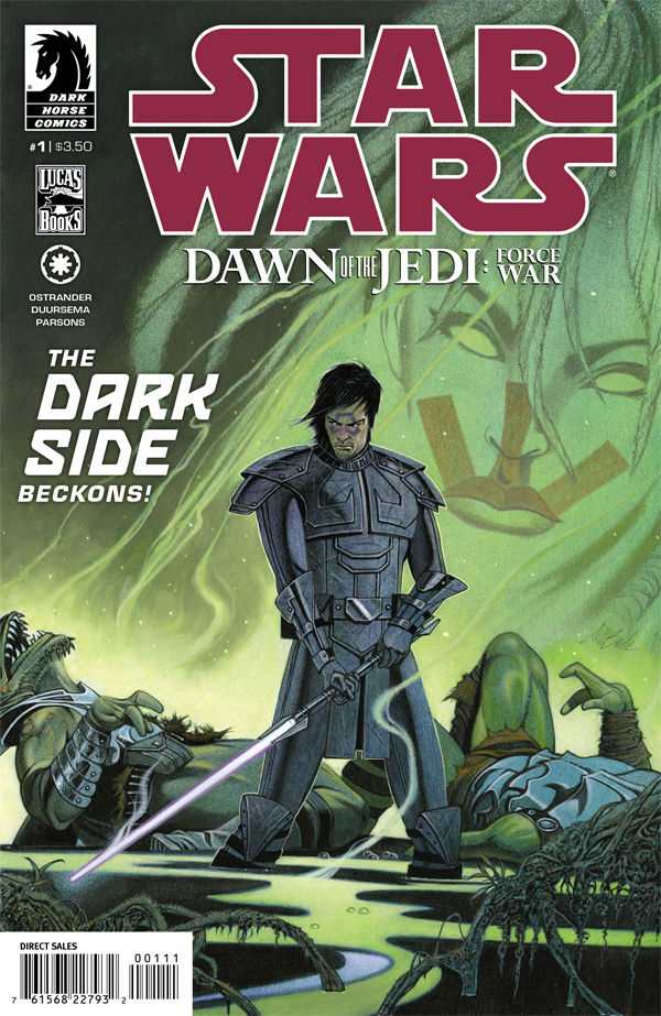 DARK HORSE COMICS MAR120015 STAR WARS DAWN OF THE JEDI #4