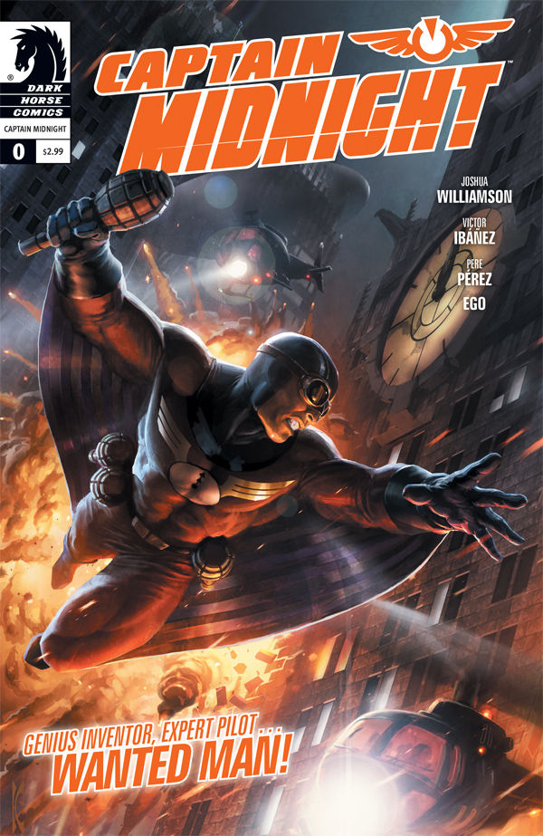 Captain Midnight  0    Profile    Dark Horse Comics