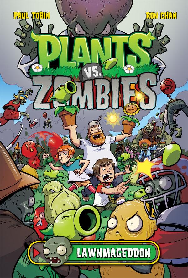 Plants Vs. Zombies Book Sales Pass 500,000 Mark! :: Blog :: Dark ...