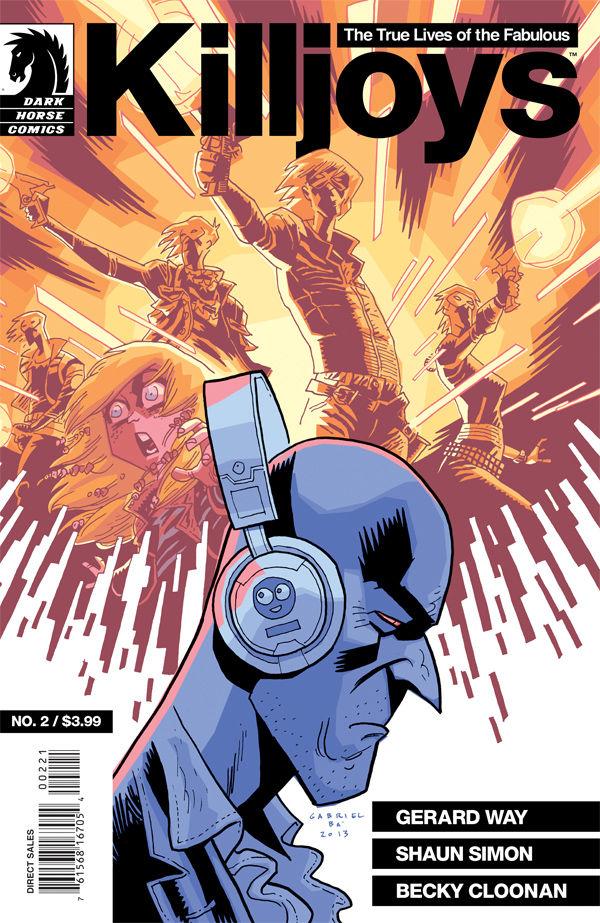 The True Lives Of Fabulous Killjoys 2 Gabriel Ba Variant Cover Profile Dark Horse Comics