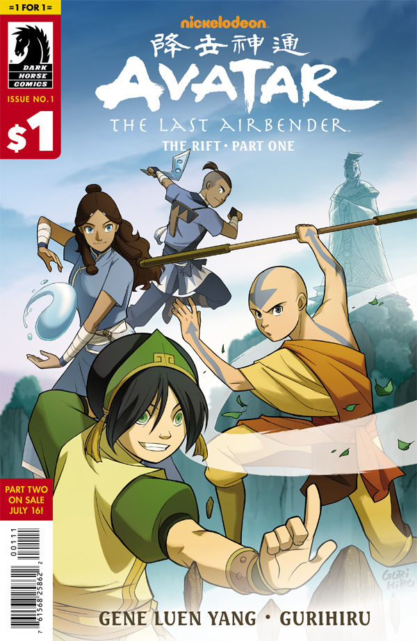 #1 for $1: Avatar: The Last Airbender—The Rift #1
