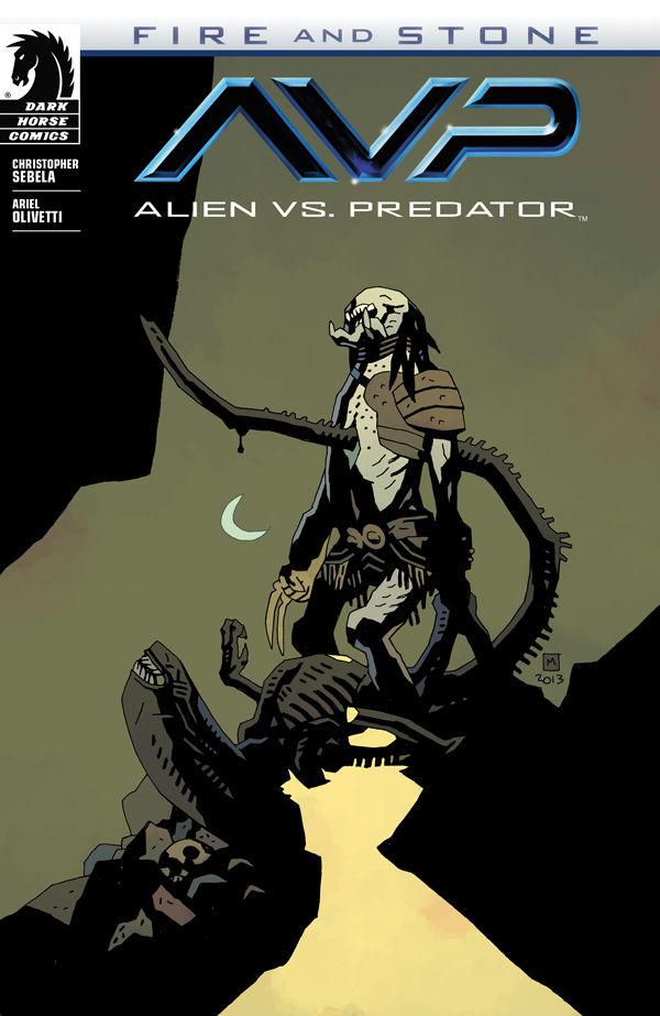 alien vs predator fire and stone 1 mike mignola