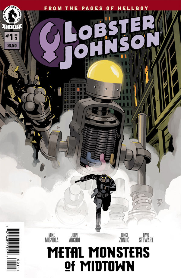 Lobster Johnson comics at TFAW.com