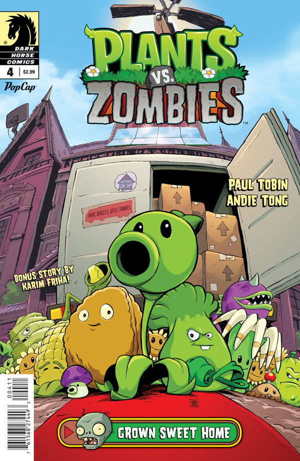 Plants Vs Zombies Grown Sweet Home