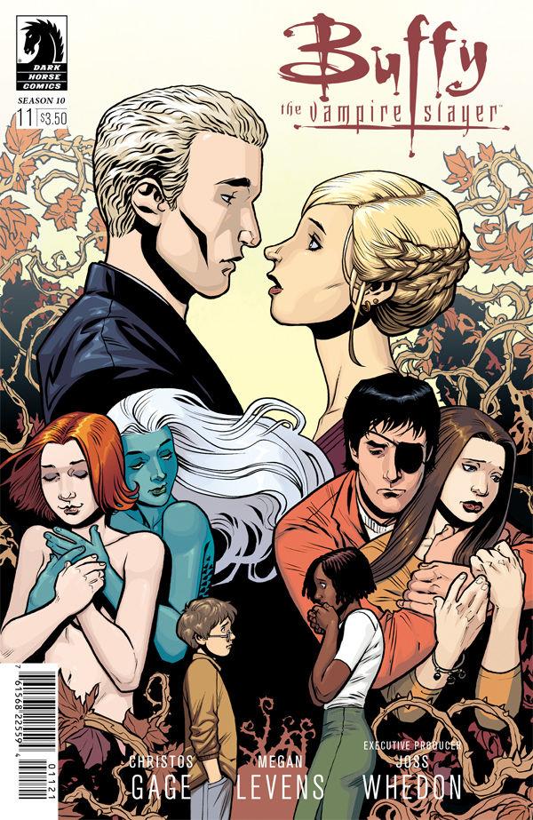 Buffy The Vampire Slayer Season 10 11 Rebekah Isaacs Variant Cover Profile Dark Horse Comics
