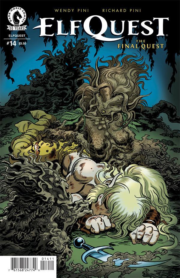 Cook Book Cover Quest : Elfquest the final quest profile dark horse comics