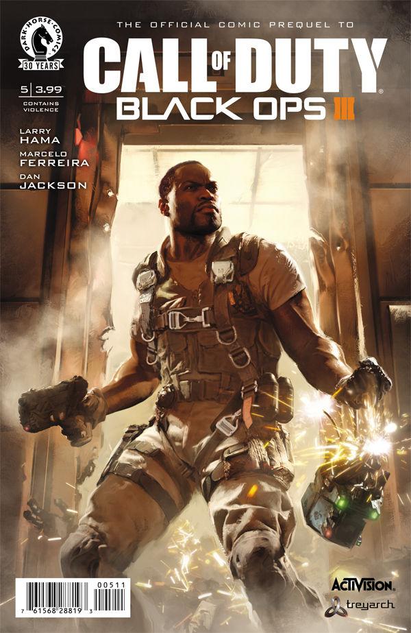 Call Of Duty Black Ops Iii 5 Profile Dark Horse Comics