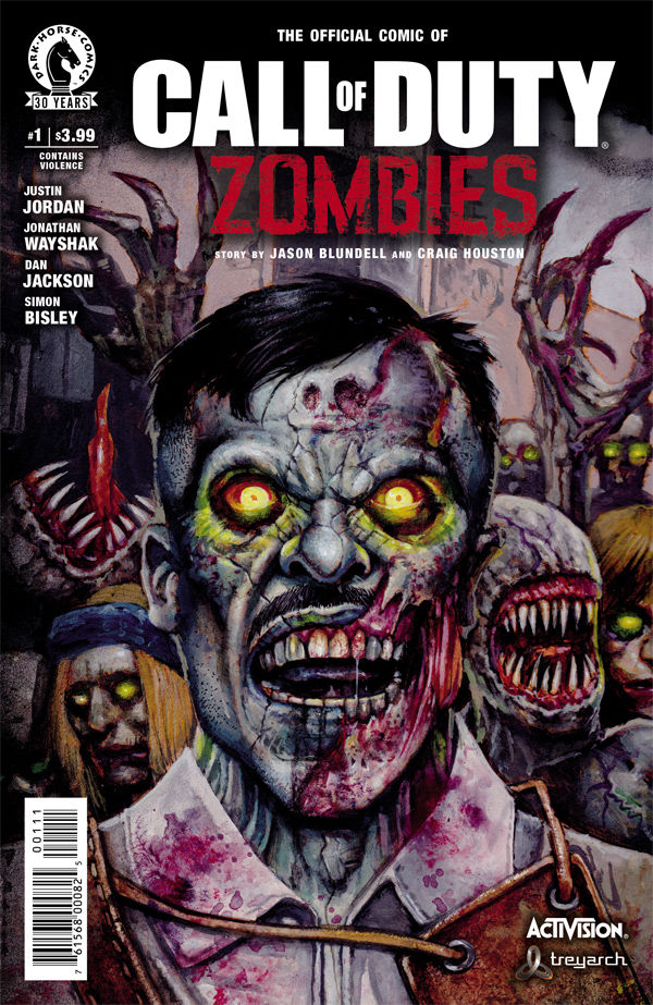Call of Duty: Zombies #1 :: Profile :: Dark Horse Comics