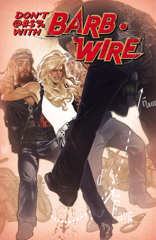 Barb Wire 7 Dark Horse 2016 NM VERY SCARCE LOW PRINT RUN Adam Hughes Variant