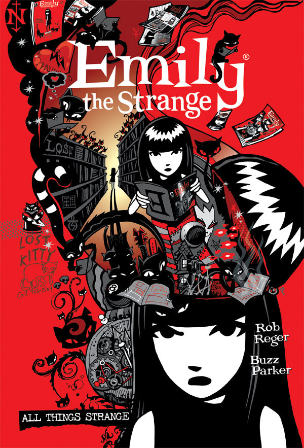 7e41400298 The Complete Emily the Strange  All Things Strange HC    Profile ...