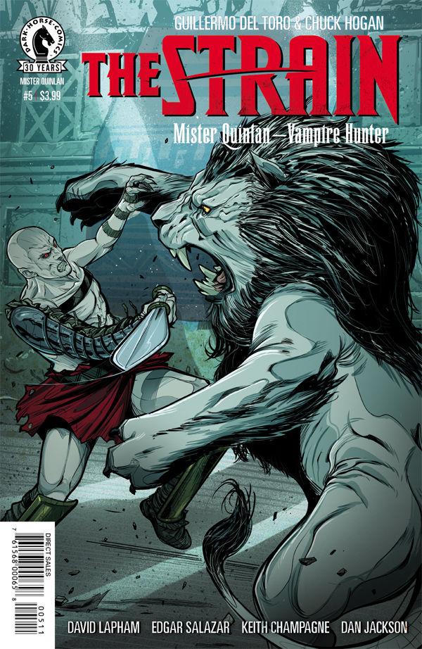 The Strain Mister Quinlan Vampire Hunter 5 Profile Dark