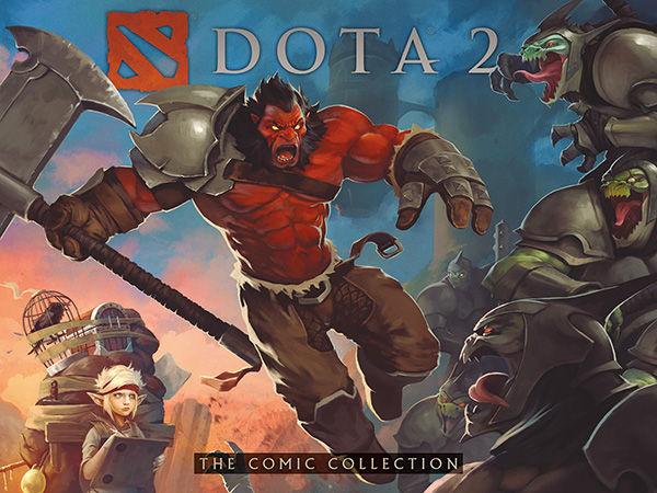 dota 2 the comic collection hc profile dark horse comics