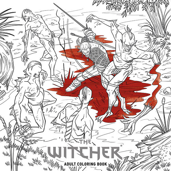 The Witcher Adult Coloring Book TPB :: Profile :: Dark Horse Comics
