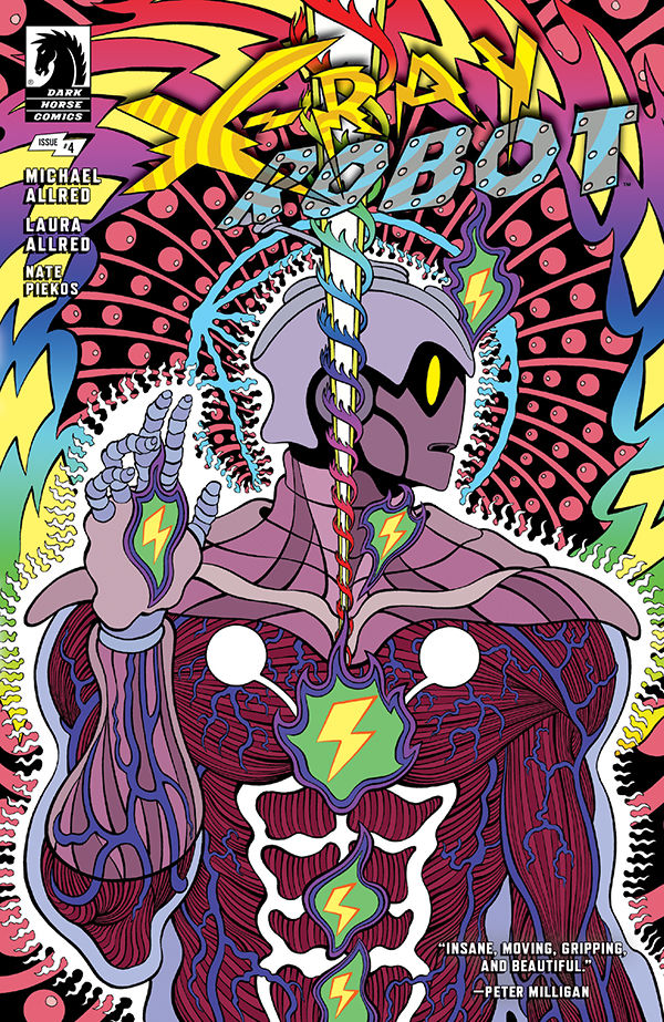 X-Ray Robot 4 NM 4A Mike Allred cover 2020 Dark Horse NEW