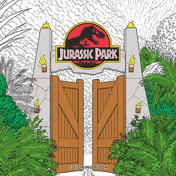 Jurassic Park Coloring Book TPB :: Profile :: Dark Horse Comics
