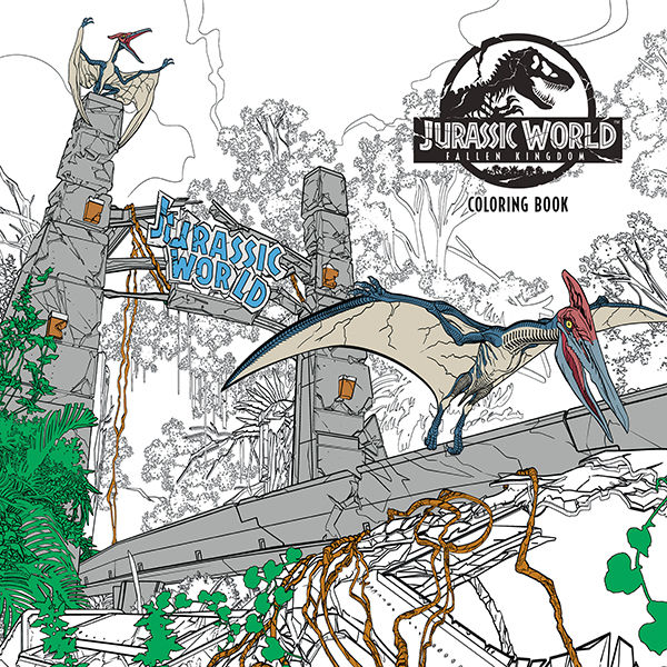 Jurassic World: Fallen Kingdom Coloring Book TPB :: Profile :: Dark ...