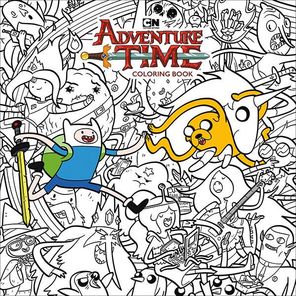 Adventure Time Coloring Book Volume 1 TPB :: Profile :: Dark Horse Comics