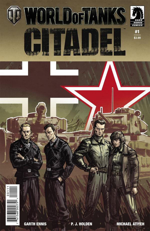 World of Tanks: Citadel #1 :: Profile :: Dark Horse Comics
