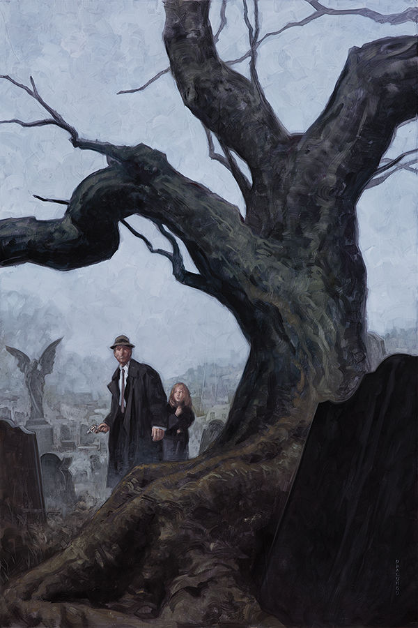 Joe Golem Occult Detective The Drowning City 3 Profile Dark