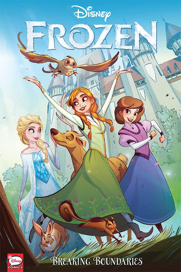 Disney Frozen Breaking Boundaries Tpb Profile Dark