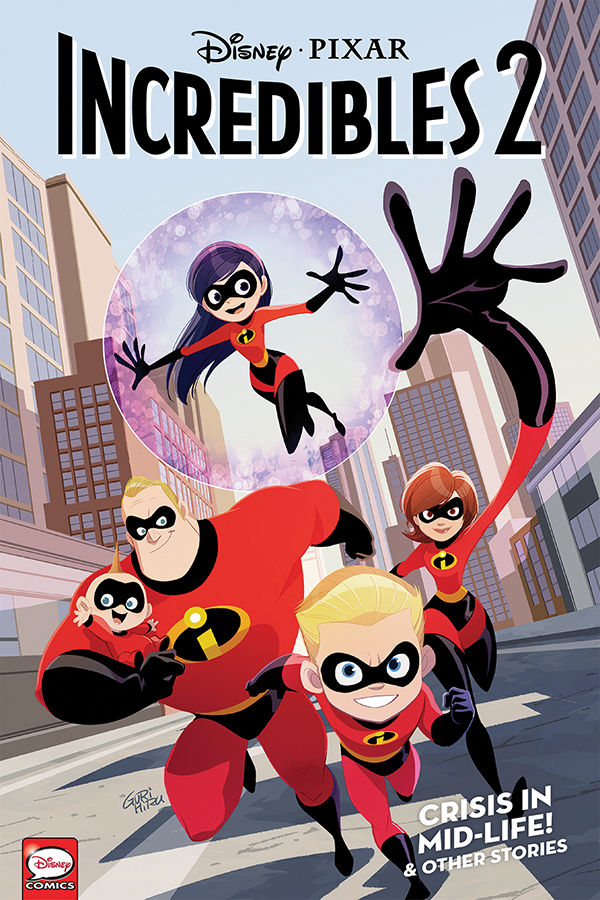 Disney/PIXAR The Incredibles 2: Crisis in Mid-Life! & Other Stories