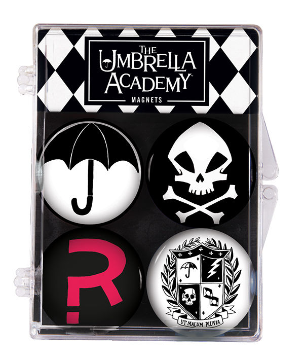 The Umbrella Academy Magnet 4-Pack :: Profile :: Dark