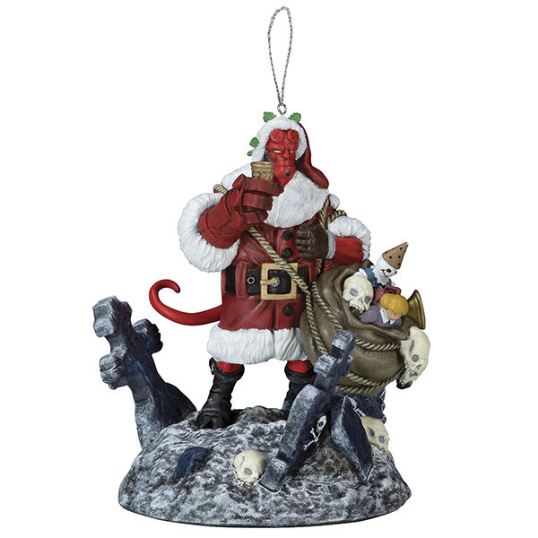 Hellboy speech bubble Christmas ornament