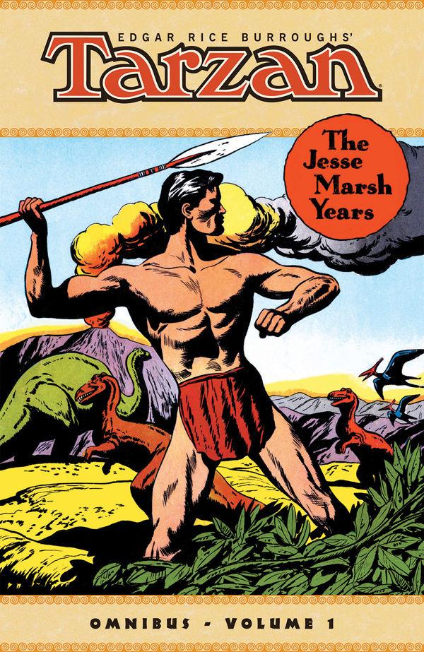 Edgar Rice Burroughs Tarzan The Jesse Marsh Years