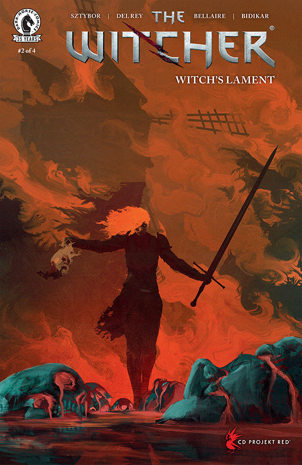 The Witcher: Witch's Lament #2 (Anato Finnstark Variant Cover) :: Profile :: Dark Horse Comics