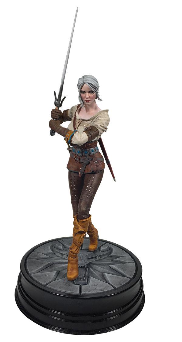 The Witcher 3 The Wild Hunt Ciri Figure Profile