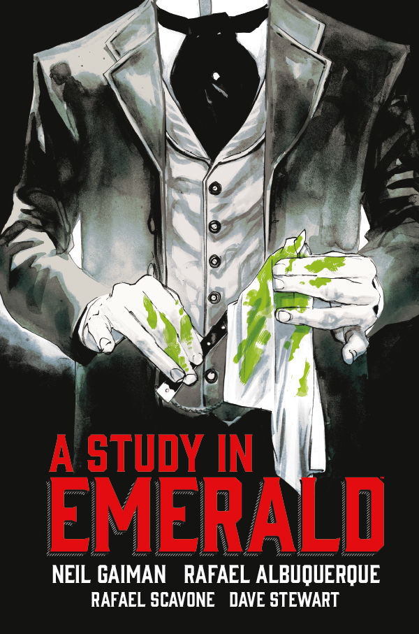 Image result for a study in emerald neil gaiman