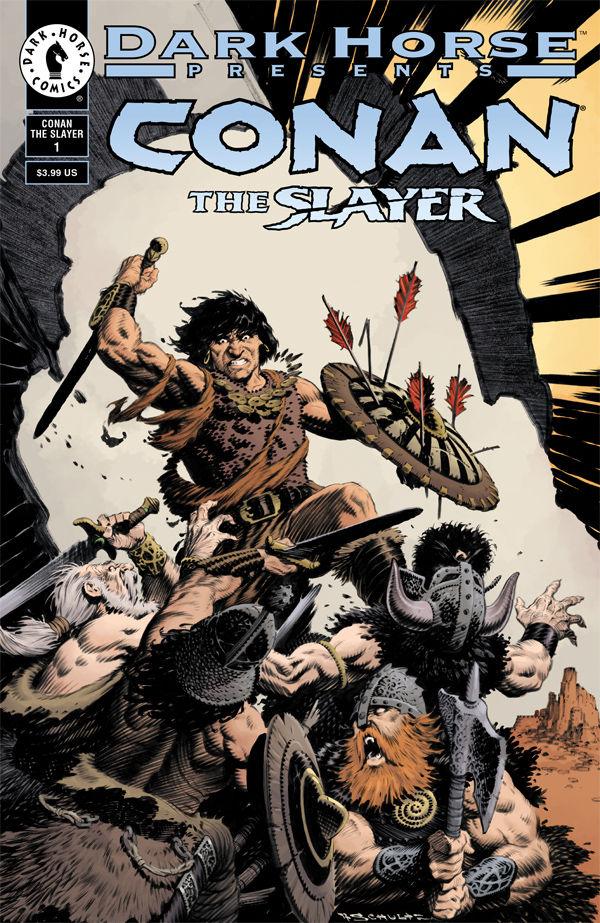 spesso Conan the Slayer #1 (Mark Schultz 30th Anniversary Variant Cover  LI65