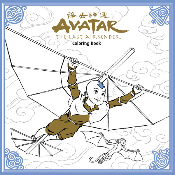 Avatar: The Last Airbender Coloring Book TPB :: Profile :: Dark ...