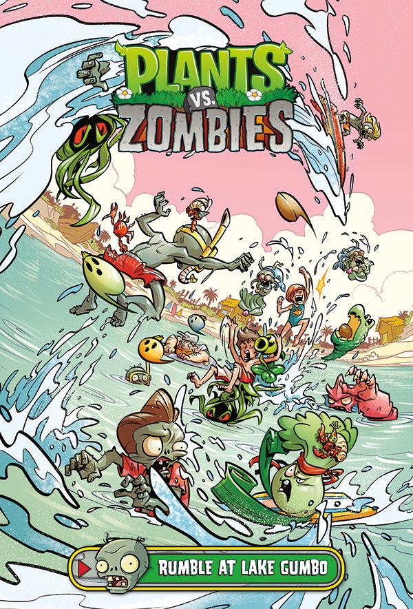 plants vs zombies volume 10 rumble at lake gumbo hc profile