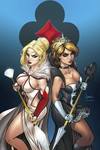 Grimm Fairy Tales Wonderland Clash Of Queens #5 (of 5) (Cover C - Garza)