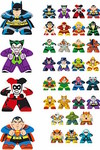 Mighty Meeples DC Comics 24pc Bmb Gravity Feed