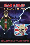 Iron Maiden Legacy of the Beast Pin Set 1 Trooper/General