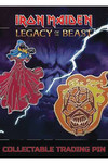 Iron Maiden Legacy of the Beast Pin Set 3 Wicker Man