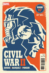 Civil War II #7 (of 8) (Michael Cho Variant Cover edition)