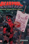 Deadpool Drawing Merc W / Mouth 3 Decades Marvel Art