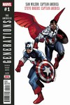 Generations Captain Americas #1 (2nd Printing)
