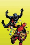 Black Panther vs Deadpool #1 (of 5) (Hamner Variant)