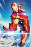 Tony Stark Iron Man #5 (Jong-Ju Kim Marvel Battle Lines Variant)