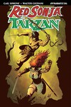 Red Sonja Tarzan #6 (Cover A - Geovani)