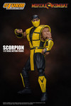 "Scorpion ""Mortal Kombat 3"", Storm Collectibles 1/ 12 Action Figure"