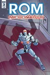 Rom & the Micronauts #3 (of 5) (Cover A - Ossio)