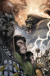 Kong on Planet of Apes #4 (Connecting Magno Variant)