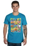 Rocket League POP Art Hats SM T-Shirt