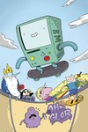 Adventure Time #63 (Subscription Naujokaitis Variant)