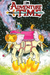 Adventure Time #75 (Brown Variant Cover)